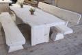 Tisch & Bankgarnitur