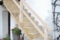 Eichen Treppe Aussenbereich
